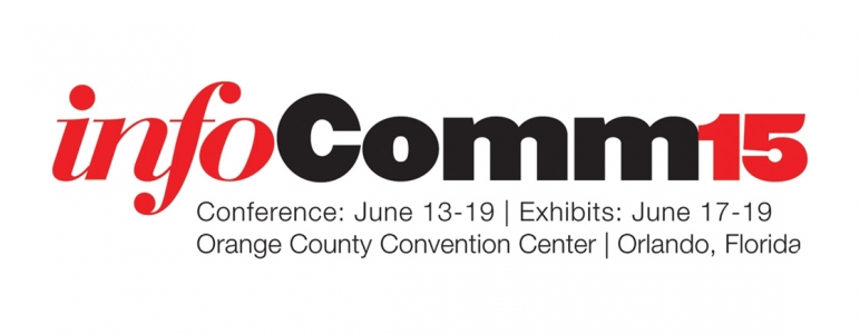 Come see us at InfoComm 2015, Booth 2052!